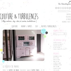 Le Buffet de Mamie - Couture&Turbulences