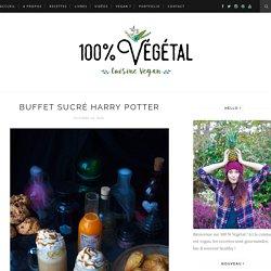 Buffet sucré Harry Potter - 100 % Végétal