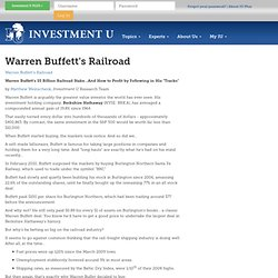Warren Buffett's Railroad