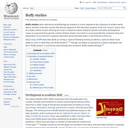 Buffy studies - Wikipedia