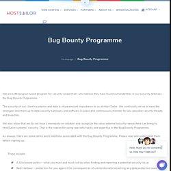 Bug Bounty Programme