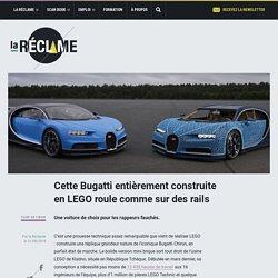 Cette Bugatti entièrement construite en LEGO roule comme sur des rails