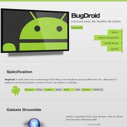Bugdroid - Livre CSS3 Le design web moderne
