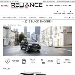 Buick Encore 2019 Review in Bay City TX