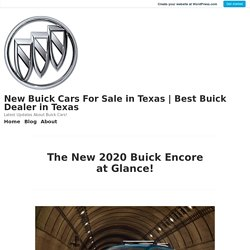 2020 Buick Encore Sport Touring