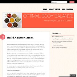 Build A Better Lunch «