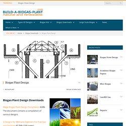 Build a Biogas Plant - Biogas Plant Design