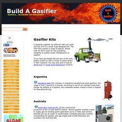 Build A Gasifier - Gasifier-Kits