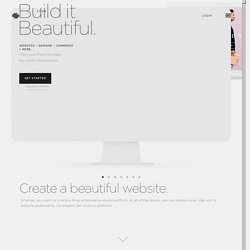 Build a Website — Squarespace