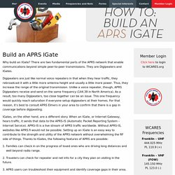 Build an APRS IGate – WCARES