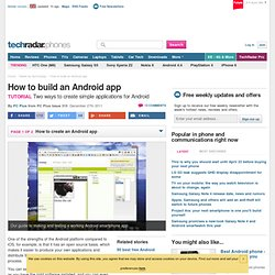 How to build an Android app