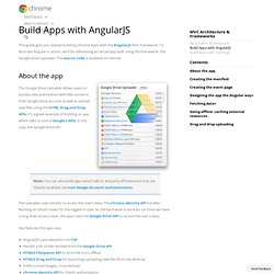 Build Apps with AngularJS
