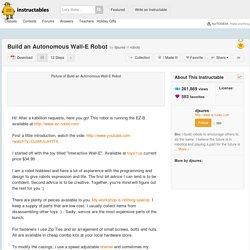 Build an Autonomous Wall-E Robot: 12 Steps (with Pictures)