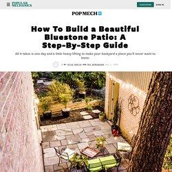 How To Build a Bluestone Patio