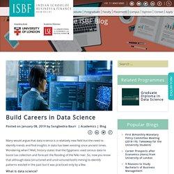 Build Careers in Data Science