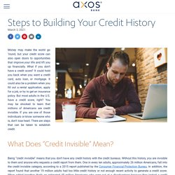How to Build a Credit History and Establish Credit
