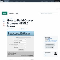 Build Cross-Browser (HTML5)