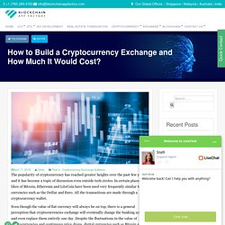 How to Build a Cryptocurrency Exchange & It Cost ?