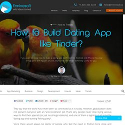 How to Build Dating App like Tinder? - Erminesoft