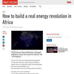 How to build a real energy revolution in Africa