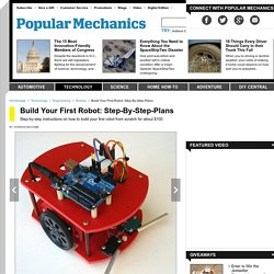 Build Your First Robot Step-By-Step Plans