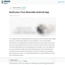 Build your First Wearable Android App