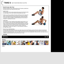 Build Great Abs Fast : Take 5 : Stay Fit and Get More Done in Less Time : Men's Health