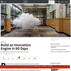 Build an Innovation Engine in 90 Days