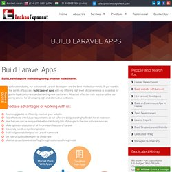Build Laravel Apps , Laravel eCommerce apps