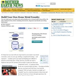 Build Your Own Home Foundry