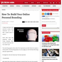 How To: Build Your Online Personal Branding