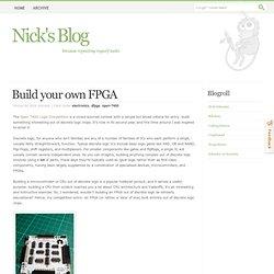 Build your own FPGA
