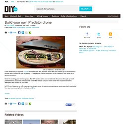 Build your own Predator drone