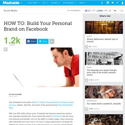 HOW TO: Build Your Personal Brand on Facebook
