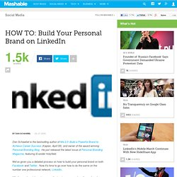 HOW TO: Build Your Personal Brand on LinkedIn