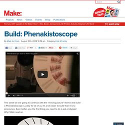 Build: Phenakistoscope