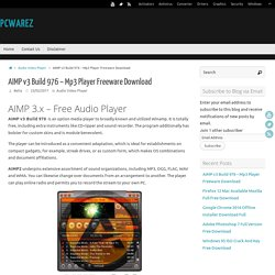 AIMP v3 Build 976 – Mp3 Player Freeware Download