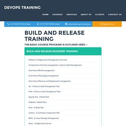Build and Release Training
