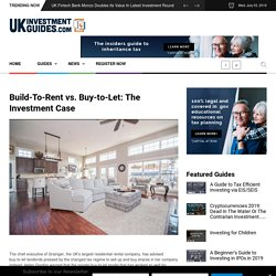 Build-To-Rent vs. Buy-to-Let: The Investment Case
