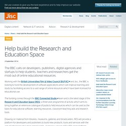 Help build the Research and Education Space