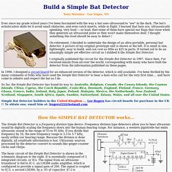 Build a Simple Bat Detector