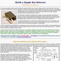 Build a Simple Bat Detector