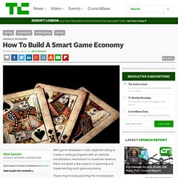 How To Build A Smart Game Economy