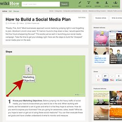 How to Build a Social Media Plan (with Screenshots)