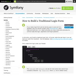 How to Build a Traditional Login Form (current)