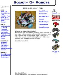 How to Build a Robot Tutorial - Society of Robots