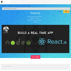 Build A Real-Time Twitter Stream with Node and React.js