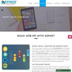 ASPDot web API integration and development services