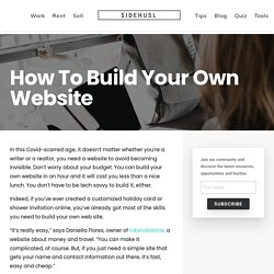 How to build your own website / Simple step-by-step guide