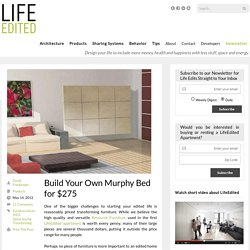 Build Your Own Murphy Bed for $275 - LifeEdited